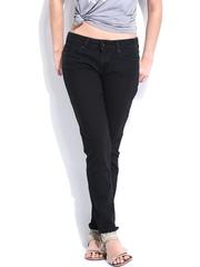 Levis Women Black Demi Curve Slim Fit Jeans