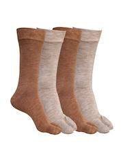 MARC Women Set of 5 Brown Socks