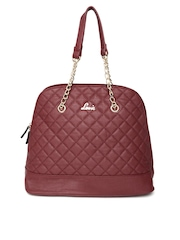Lavie Burgundy Shoulder Bag