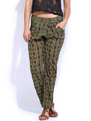 Tokyo Talkies Women Multicoloured Printed Trousers