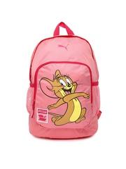 PUMA Kids Pink Tom & Jerry Backpack