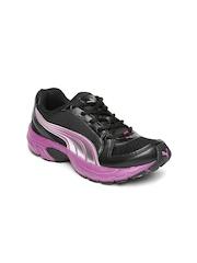 PUMA Women Black Brent Running Shoes