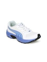 PUMA Women White Brent Running Shoes
