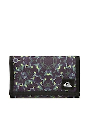 Quiksilver Men Purple Printed Wallet