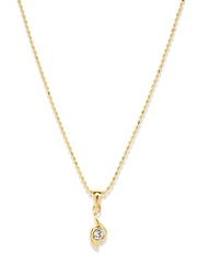 Estelle Gold-Toned Pendant with Chain