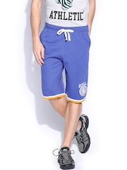Men Blue Shorts Russell Athletic