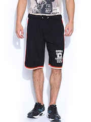 Men Black Shorts Russell Athletic