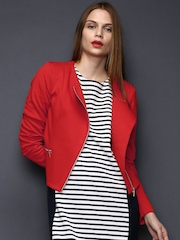 SELA Women Red Jacket