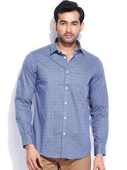 Arrow Sport Men Blue Hudson Semi-Slim Fit Casual Shirt