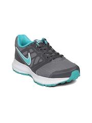 Nike Women Grey Downshifter 6 MSL Running Shoes