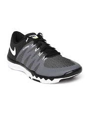 Nike Men Black & Grey Free 5.0 V6 Training Shoes
