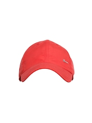 Nike Unisex Red NSW METAL SWOOSH H86 Cap