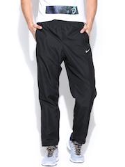 Nike Men Black Season SW OH Track Pants