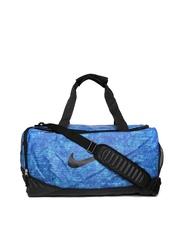 Nike Men Blue Team Training Max Air Printed Duffle Bag