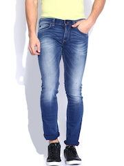 French Connection Men Blue Skinny Fit Jeans