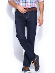 French Connection Men Dark Blue New Regular Fit Jeans