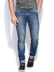 United Colors of Benetton Men Blue Slim Fit Jeans