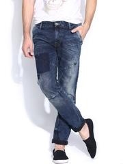 United Colors of Benetton Men Navy Slim Fit Jeans