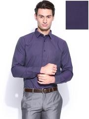 Blackberrys Men Purple Slim Fit Formal Shirt