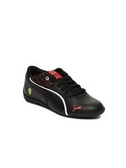 PUMA Kids Black Drift Cat 6 L SF Casual Shoes