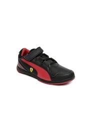 PUMA Kids Black Valorosso SF V Casual Shoes
