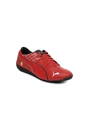 PUMA Kids Red Drift Cat 6 L SF Casual Shoes