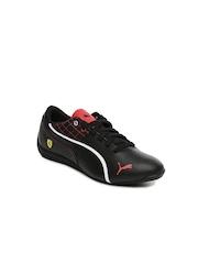 PUMA Kids Black Drift Cat 6 L Ferrari Casual Shoes