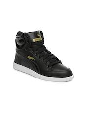 PUMA Kids Black IKAZ Casual Shoes