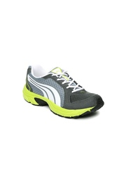 PUMA Kids Grey & White Axis 2 DP Running Shoes