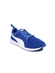 PUMA Kids Blue Carson Runner Running Shoes