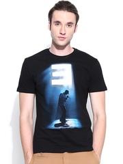 Eminem Men Black Printed T-shirt