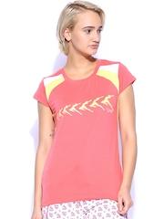 Lovable Sports Women Pink T-shirt