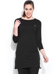 Lovable Sports Women Black Tunic