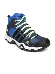 Adidas Men Navy & Blue AX2 Mid Outdoor Shoes