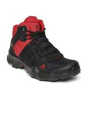 Adidas Men Black & Red AX2 Outdoor Shoes