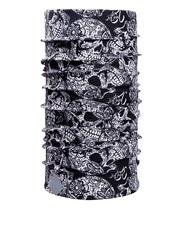 NOISE Unisex Black & White Printed Multipurpose Headwear