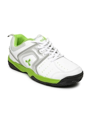 Spinn Men White Glister Sports Shoes