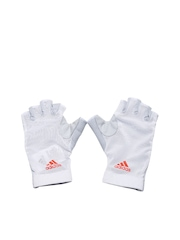 Adidas Women White CLMCO Gloves