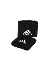 Adidas Unisex Set of 2 Black Tennis Wristbands S22003