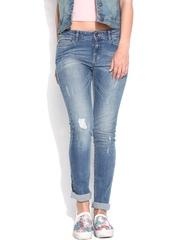 Vero Moda Women Blue Jeans