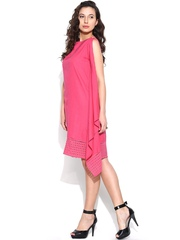 Global Desi Pink Shift Dress