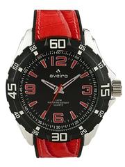 Aveiro Men Black Dial Watch AV71RED