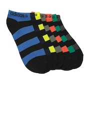 Adidas NEO Unisex Set of 7 Striped Ankle-Length Socks