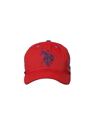 U.S. Polo Assn. Men Red Cap