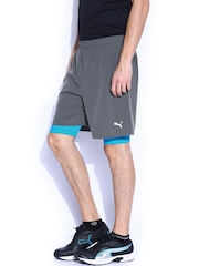 PUMA Men Grey Shorts