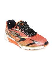Skechers Men Rust Orange Go 4 Running Shoes
