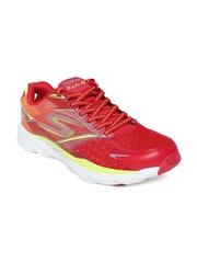 Skechers Men Red Go Ride 4 Running Shoes