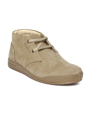 Woodland Men Light Brown Suede Casual Shoes