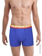 Superdry Men Blue Retro Sport Boxer Briefs M31KW001F1
