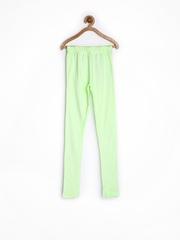 Miss Alibi Girls Mint Green Leggings